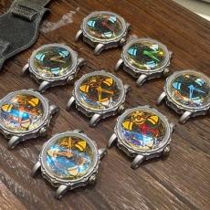 002变色龙 MAXLab.幻彩系列 B13167915008 皮带 机械男表