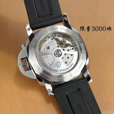 004沛纳海PAM01359.正品九九新 皮带 机械男表